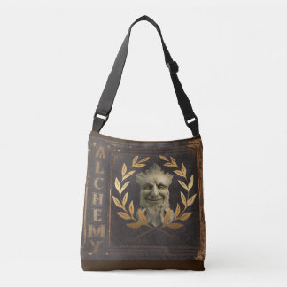 green man crossbody bag