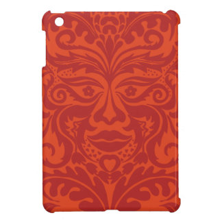 Green Man in Tangerine & Orange iPad Mini Covers