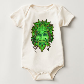 Green Man organic onsie Baby Bodysuit