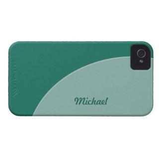 Green Modern Case-Mate iPhone 4 Case