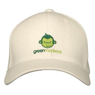 Green Monkeys cap Embroidered Baseball Caps