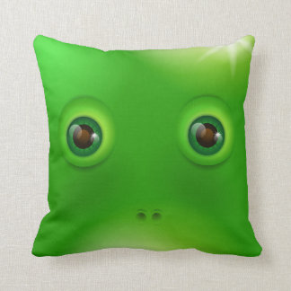 Green Monster face Cushions