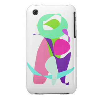 Green Moon iPhone 3 Cover