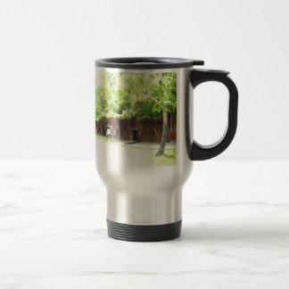 Green Stainless Steel Travel Mug