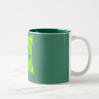 Green Mug for Relaxing.