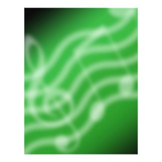 Green Music 21.5 Cm X 28 Cm Flyer