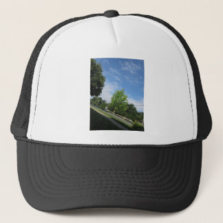 GREEN nature tree skyline NewJersey USA NVN675  GI Trucker Hat