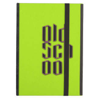 Green Neon Old School iPad Air Cover