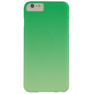 Green Ombre Barely There iPhone 6 Plus Case
