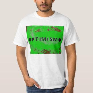 green optimism shirt