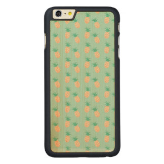 GREEN PASTEL iPhone 6/6s Plus Slim Maple Wood Case