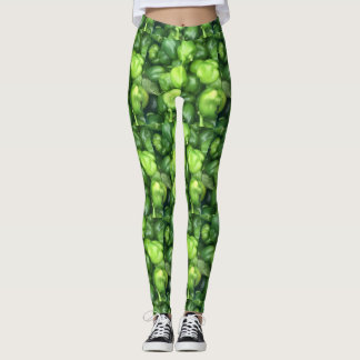 Green Pepper Leggings