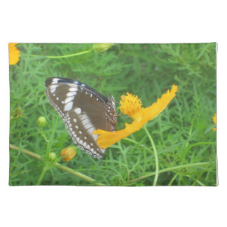Green Placemat with Butterfly Cloth Placemat
