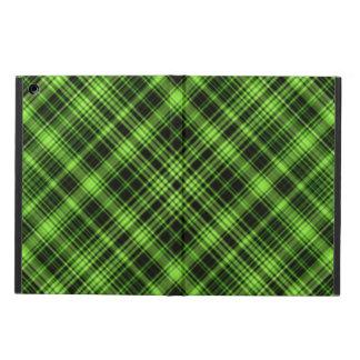 Green Plaid iPad Air Case