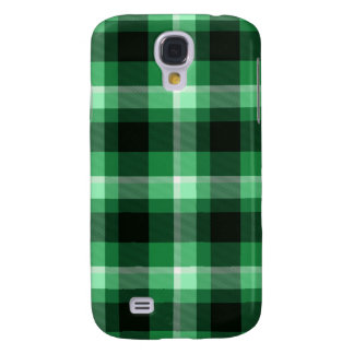 Green Plaid Pattern Galaxy S4 Case