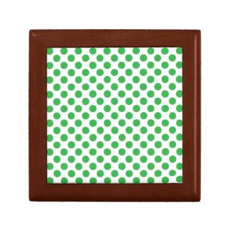Green Polka Dots Gift Box
