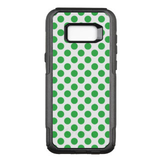 Green Polka Dots OtterBox Commuter Samsung Galaxy S8+ Case