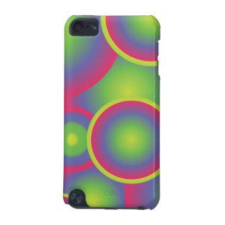 Green Pop Art Circles iPod Touch 5G Cases