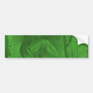 Green Reflections II Bumper Sticker
