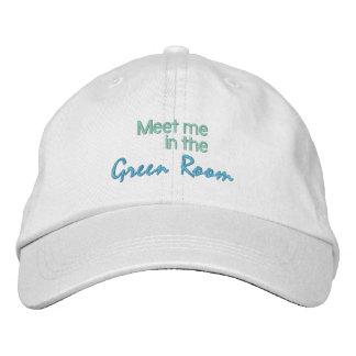 GREEN ROOM cap Embroidered Baseball Cap