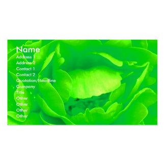 Green Rose Florist I Business Card Business Card Template