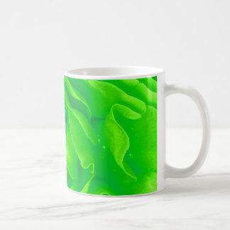 Green Rose Mug - Customizable Mug