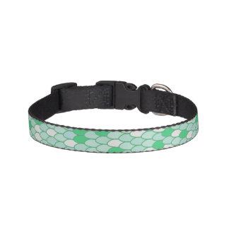 Green Scale Collar Dog Collars