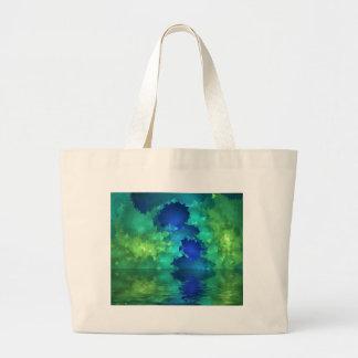Green Sea Tote Bags