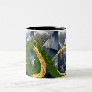 Green Sea Dragon Mug