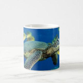 Green Sea Morphing Mug