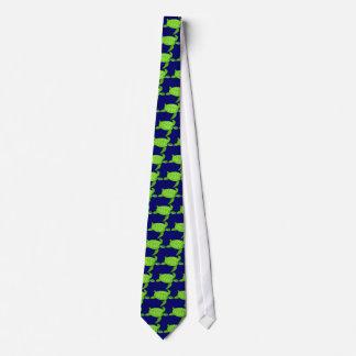 Green sea turtle-13 tie