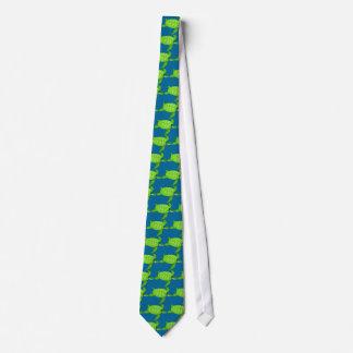 Green sea turtle-14 tie