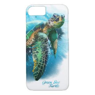 Green Sea Turtle iPhone 8/7 Case