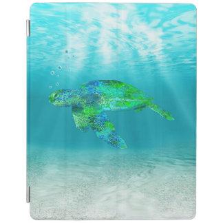 Green Sea Turtle iPad Cover