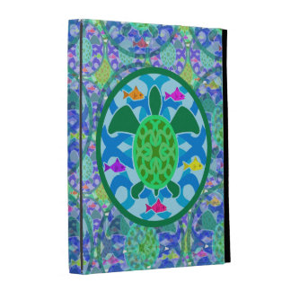 Green Sea Turtle iPad Folio Case