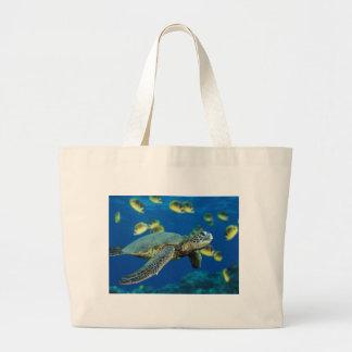 Green Sea Turtle.jpg Jumbo Tote Bag