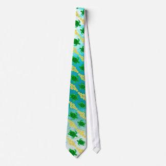 Green Sea Turtles Tie
