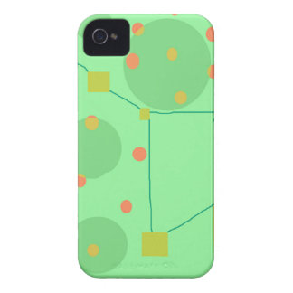 Green sky Case-Mate iPhone 4 cases