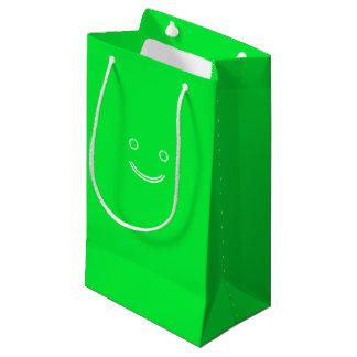 Green Smiley bag