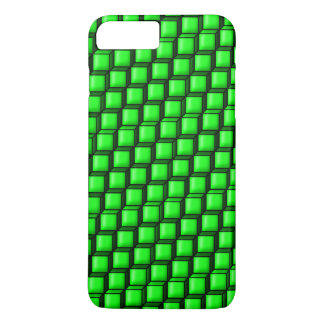 Green Squares Barely There iPhone 7 Plus Case