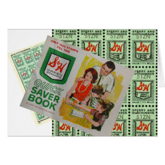 Green Stamps Card