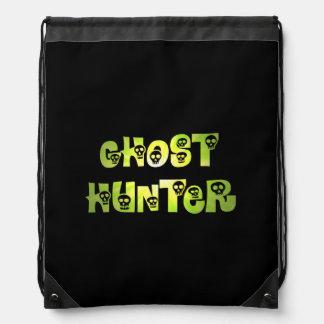Green Starburst Skulls Ghost Hunter backpack