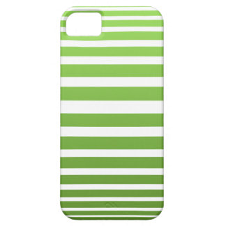 Green striped barely there iPhone 5 case