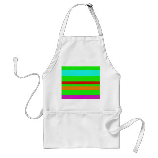 Green Stripes Aprons