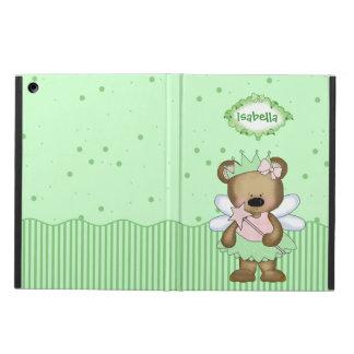 Green Teddy Bear Fairy Princess iPad Air Covers