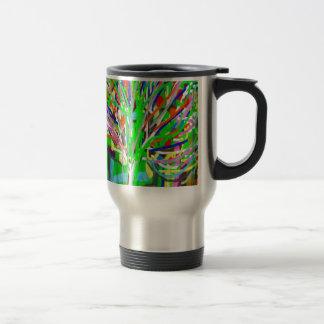 GREEN Theme Artistic Tree Show Coffee Mugs
