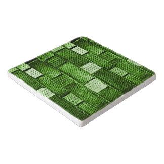 Green Tile Trivet