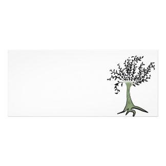 Green tree full color rack card