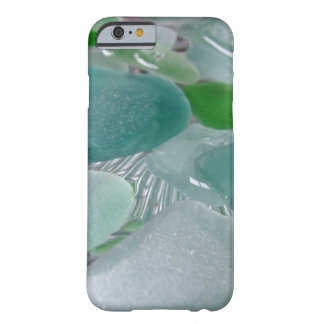 Green Vibrations Green Sea Glass Barely There iPhone 6 Case