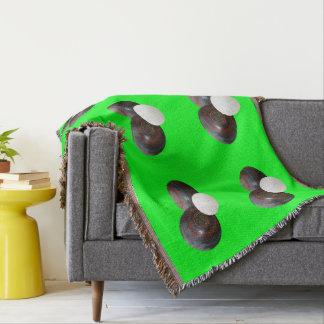 Green_Vintage_Lawn_Bowls,_Woven_Blanket.